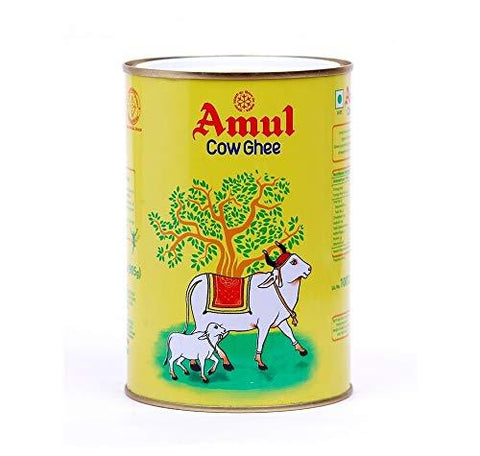 Amul Ghee MADE FROM PURE COW MILK 1 Liter (905grams)