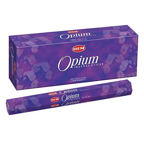 Opium - Box of Six 20 Gram Tubes - HEM Incense