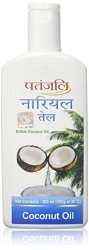 Patanjali Double Filtered Coconut Oil 210ml - wallets for men's at mens wallet