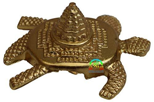 OM SHRI OM Brass Turtle for Good Luck - Best Wishing Gift Tortoise Vastu - wallets for men's at mens wallet