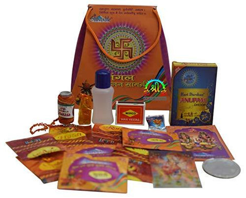 Puja Samagri Religious Kit Pooja - wallets for men's at mens wallet