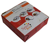 Bajaj Quality Stainless Steel Round Spices Box Kitchen Masala Dabba 7 Compartments, Spices Box Storage, spice box with Lid for kitchen Use - wallets for men's at mens wallet