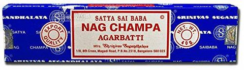 Nag Champa Incense, 40 Gms by Sai Baba (Pack of 2)
