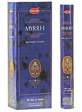 Myrrh - Box of Six 20 Gram Tubes - HEM Incense - wallets for men's at mens wallet