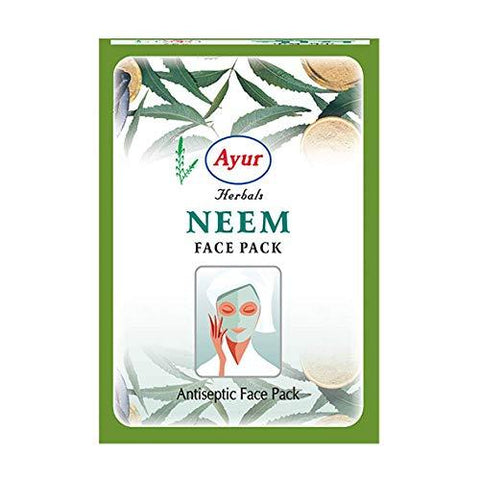 Ayur Brand Herbal Face Repair (Neem (Clear Skin Pack), 1 Pack x 100g)
