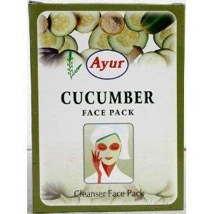 Ayur Cucumber Face Pack (Cleanser Face Pack)100g by Ayur