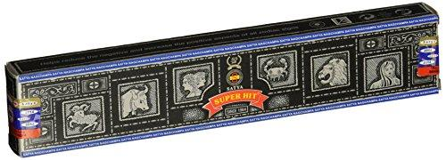 Satya Sai Baba Super Hit Incense Sticks, 180 g, 12 Pack - wallets for men's at mens wallet
