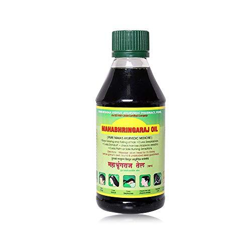 Mahabhringraj Ramakrishna Pharma Scalp Massaging Oil, 200 ml - wallets for men's at mens wallet