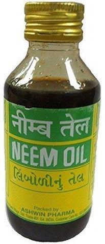 Ashwin Neem Oil 100 ml Product of India by Ashwin - wallets for men's at mens wallet