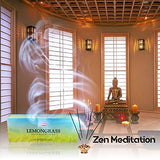 Hem Lemongrass Incense, 3 Boxes - (360 sticks bulk per order)