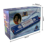 Satya Sai Baba Nag Champa Agarbatti Pack of 12 Incense Sticks Boxes 40gms Each Supreme Hand Rolled Incense Sticks