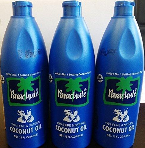 Parachute Coconut Oil-444ml (Pack of 3)