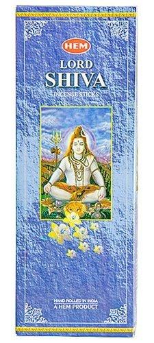 Hem Lord Shiva Incense (Box of 6 Tubes) - wallets for men's at mens wallet