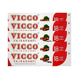 Vicco Herbal Toothpaste (Pack of 5) - wallets for men's at mens wallet