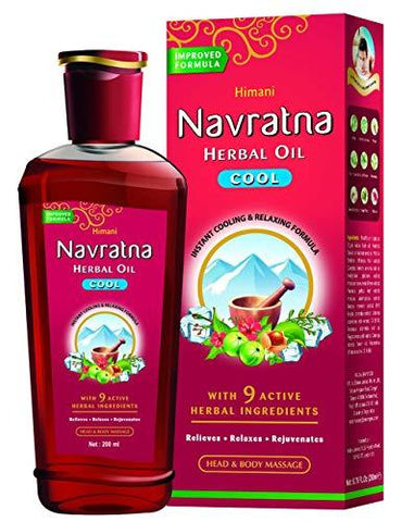 Himani Navratna Oil With 9 Natural Ayurvedic Herbs - 200 ml