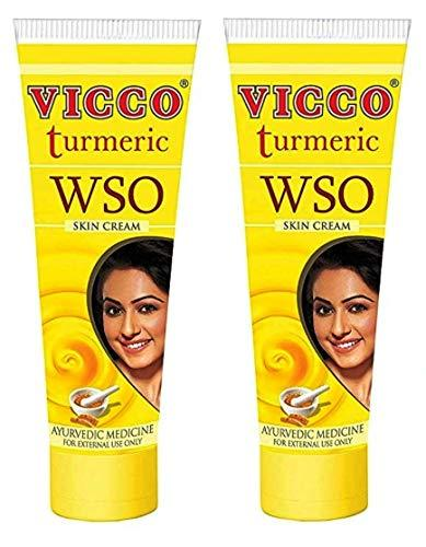 Vicco Turmeric WSO Skin Cream-60g(Pack of 2)
