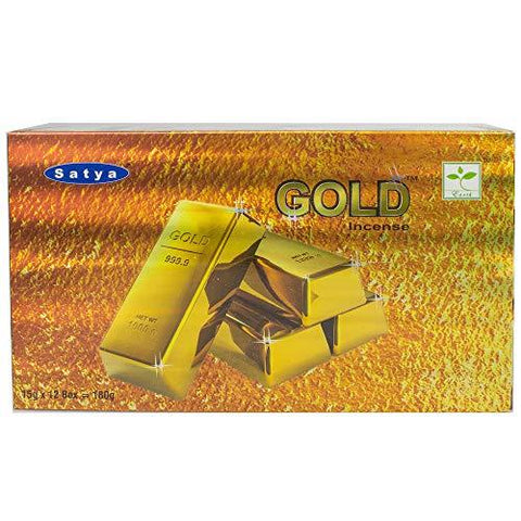 Satya Nag Champa Gold incense sticks-12packs x 15grams (6)