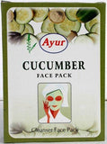 Ayur Cucumber Face Pack (Cleanser Face Pack)100g (Pack of 4)