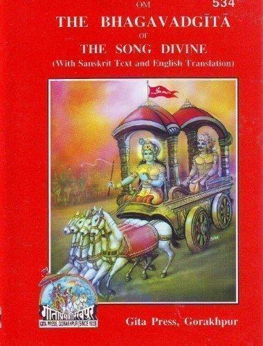 The Bhagavad Gita, or, the Song Divine (English and Hindi Edition) Hardcover December 1, 2004 - wallets for men's at mens wallet