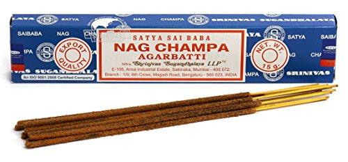 Authentic SATYA SAI BABA Nag Champa Incense Sticks