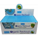 NANDITA ORIGINAL / ORGANIC PATCHOULI Incense Sticks Agarbathi - 15gm X 12 packets - wallets for men's at mens wallet