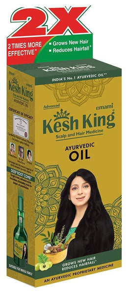 Kesh King Kesh King Ayurvedic Scalp and Hair Oil, 300 ml - wallets for men's at mens wallet