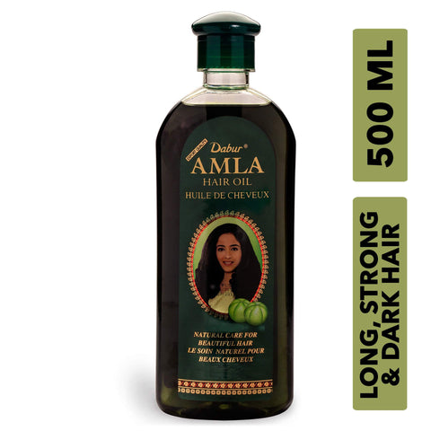 Dabur Amla Hair oil - Natural care for beautiful hair, 500ml - wallets for men's at mens wallet