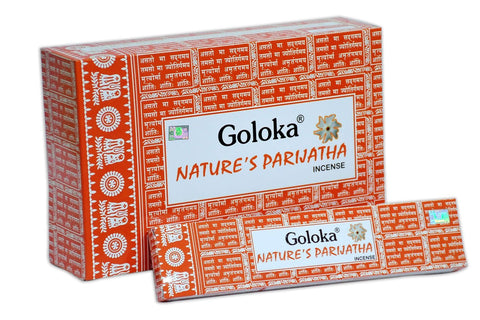 Goloka Nature's Parijata series collection incense sticks- 6 boxes of 15 gms (Total 90 gms) - wallets for men's at mens wallet