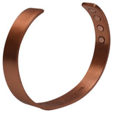 Pure Copper Magnetic Healing Plain Bracelet for Arthritis, Carpal Tunnel & Joint Pain - wallets for men's at mens wallet