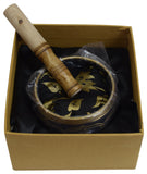 Tibetan Singing Bowl Set - Meditation Sound Bowl Handcrafted in Nepal for Healing and Mindfulness - wallets for men's at mens wallet