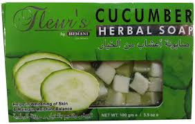 Hemani Fleur's Herbal Soap(100Grm)_(Cucumber)