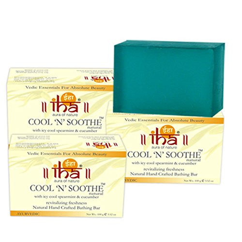 Iha Aura Of Nature Soap-100Grm(Cool 'N' Soothe)