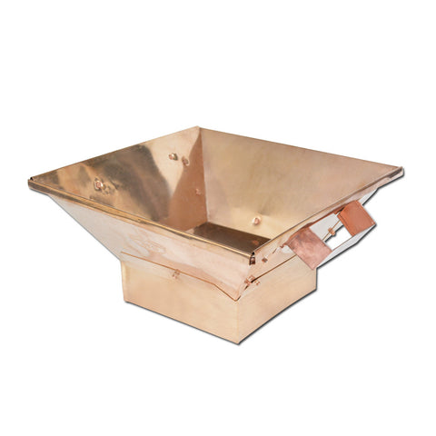 Copper Hawan Kund, Traditional Indian Style Copper Hawan Kund Agnihotra Ideal Pooja Accessory