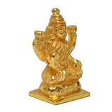 Brass Statue Godess Lakshmi Laxmi, Hindu Idol Gift Home Decor (Small)