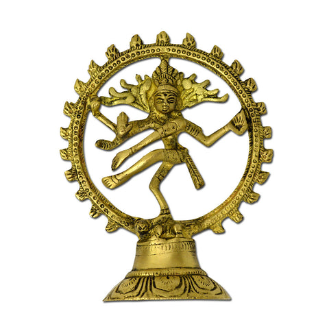 Brass Natraj Statue Sculpture, Lord of Dance