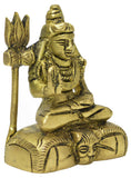 Lord Shiva Sculpture,  Brass Sculpture For  office Desk, Religious Gift OR Home Decor