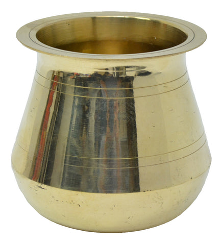Brass Kalash Puja Lota, Indian Drinkware, Jug