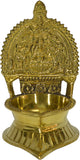 Metal Brass Laxmi Diya For Puja