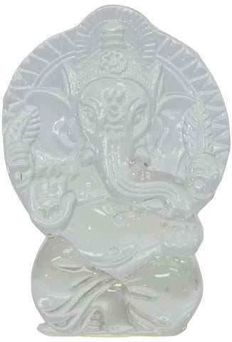 Crystal Ganesh Idol