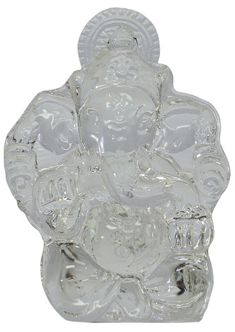Crystal Ganesh Idol Small