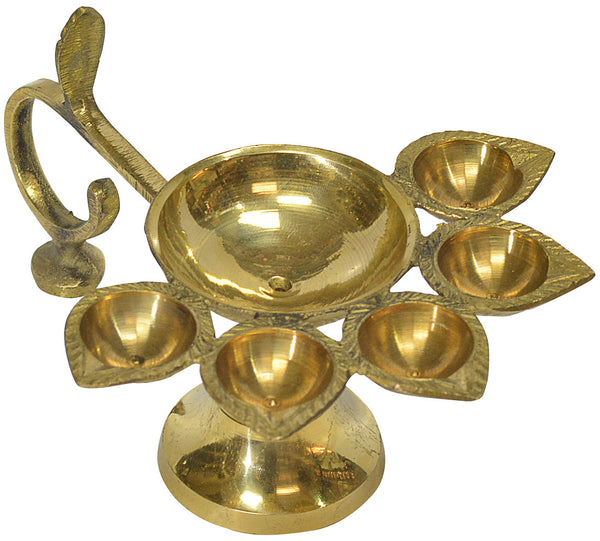 Brass Panch Aarti