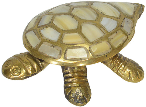 Brass Turtle Trinket Box
