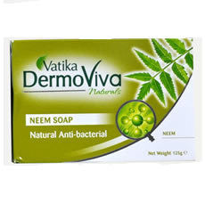 Vatika Dermoviva Natural Herbal Neem Soap_125 Grams