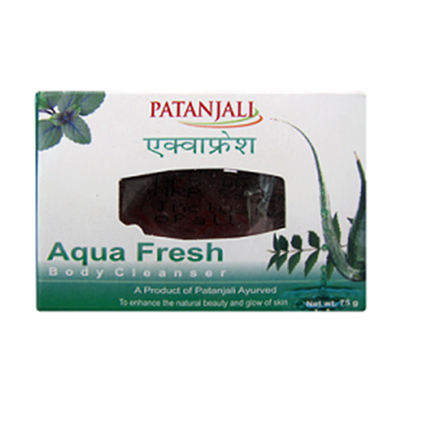 Patanjali Aqua Fresh Body Cleanser_75Grm