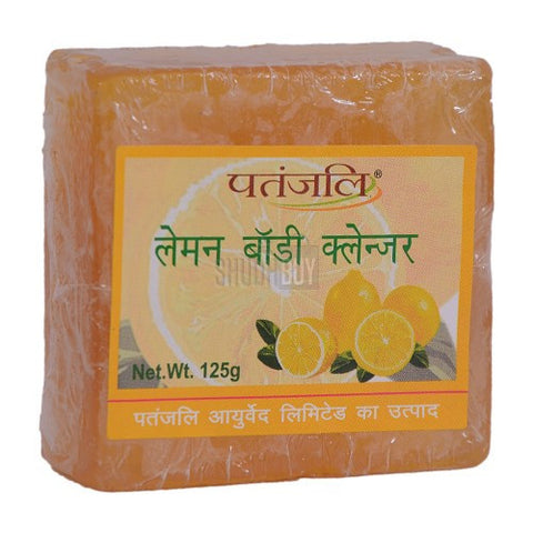 Patanjali Lemon Body Cleanser, 125g