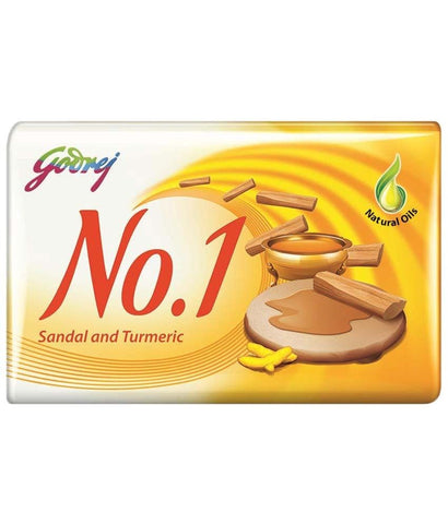 Godrej No.1 Sandal And Turmeric Soap 115Grm