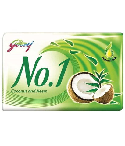 Godrej No.1 Coconut And Neem Soap 115Grm