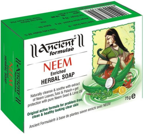 Ancient Formulae Neem Enriched Herbal Soap 125g