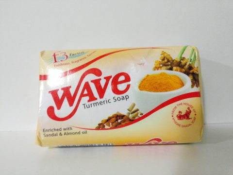 Wave Turmeric Soap With Sandal And Almond Oil
