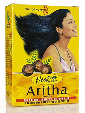 Hesh Pharma 100% Natural Herbs Powder 100gm (Aritha  Powder)